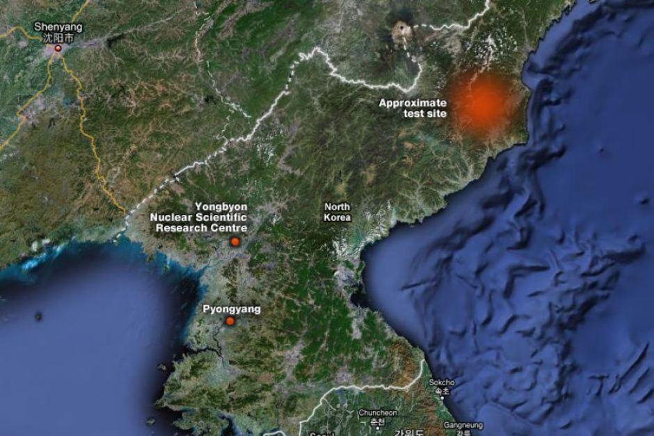 مهمترین مرکز هسته ای-نظامی کرهشمالی آماده جنگ با آمریکا + نقشه و تصاویر