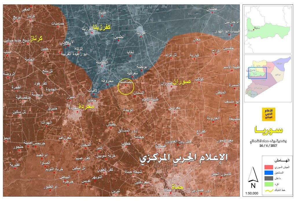 بالا گرفتن درگیریها و اختلافات میان تروریستها در شمال حماه/ موشکهای مقاومت، مقر فرماندهی داعش را در جرود بعلبک منهدم کرد