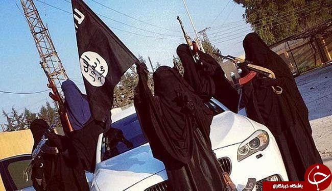 داعش در لباس زنان
