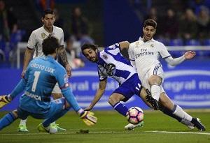 باشگاه خبرنگاران -دیپورتیوو لاکرونیا 2 - رئال مادرید 6/نیمکت نشینان ، زیدان را سربلند کردند
