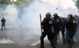 باشگاه خبرنگاران -خشونت پلیس فرانسه علیه مخالفان مارین لوپن