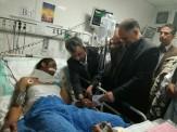 باشگاه خبرنگاران - استاندار سیستان و بلوچستان از سربازان مجروح عیادت کرد