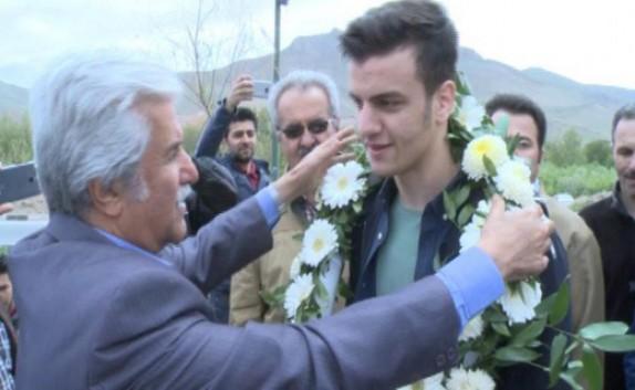 باشگاه خبرنگاران - بازگشت رزمی کاران مهابادی از مسابقات بین المللی