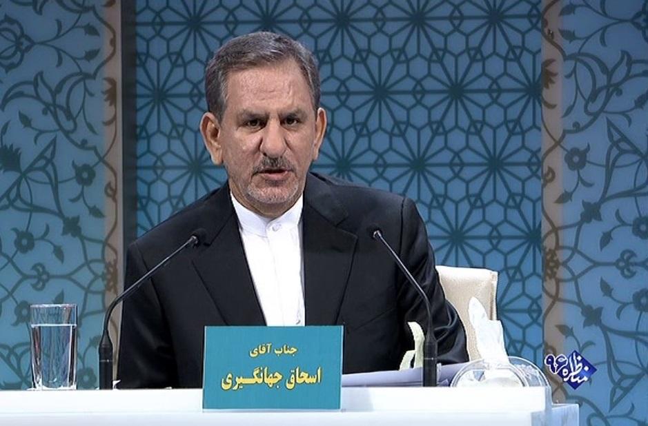 تهمت جهانگیری به احمدی نژاد /  رسانه ملی اجازه دفاع بدهد