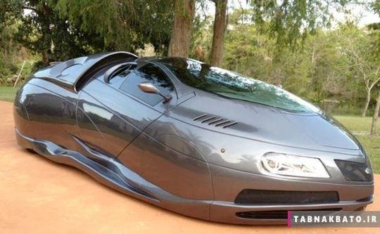 عجیب ترین اتومبیل های دنیا +تصاویر