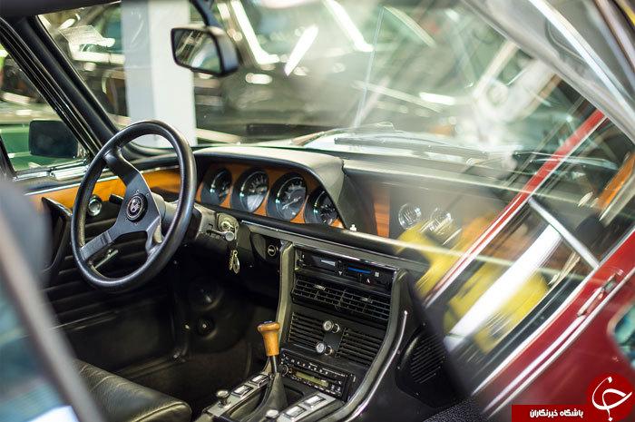 تصاویری از بی نظیرترین کلکسیون BMW