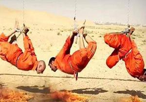 زندهسوزی یک سرکرده داعش در مصر