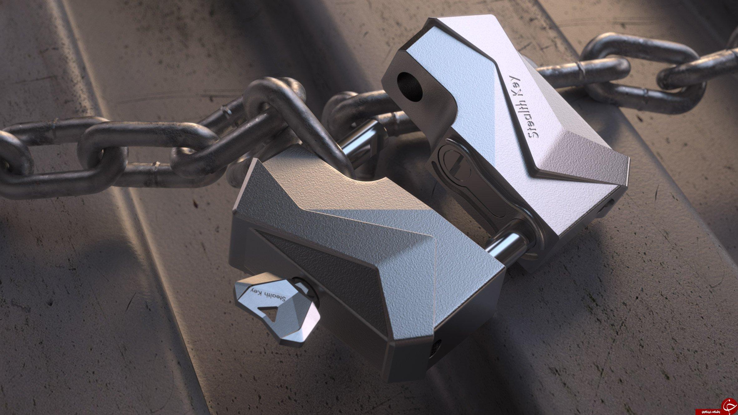 ساخت کلیدی جالب با فناوری چاپ سه بعدی+ عکس