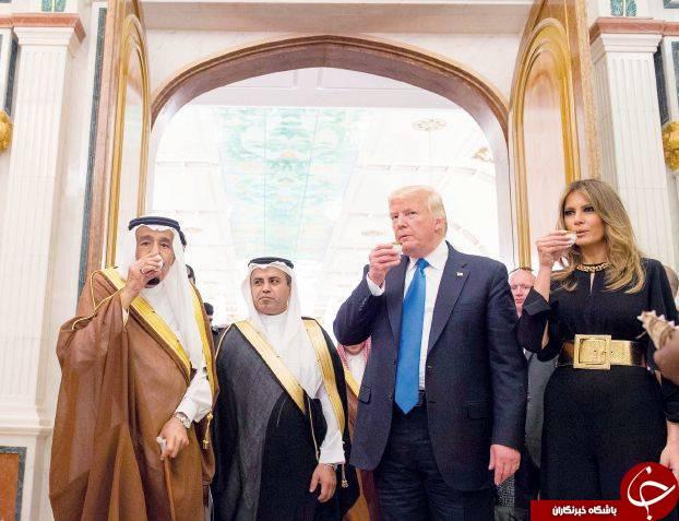 «دختر ترامپ» رتبه اول ترند توئیتر در عربستان شد/برنامه جامع ترامپ در ریاض/ ترکیه، مصر، روسیه و ایران؛ دردسرهای آمریکا در منطقه +عکس
