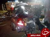 باشگاه خبرنگاران -یک کشته و 4 مصدوم در سانحه تصادف هیوندا آوانته + عکس