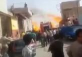 باشگاه خبرنگاران - آتش سوزی بازار بزرگ مبل کاسه گران + فیلم