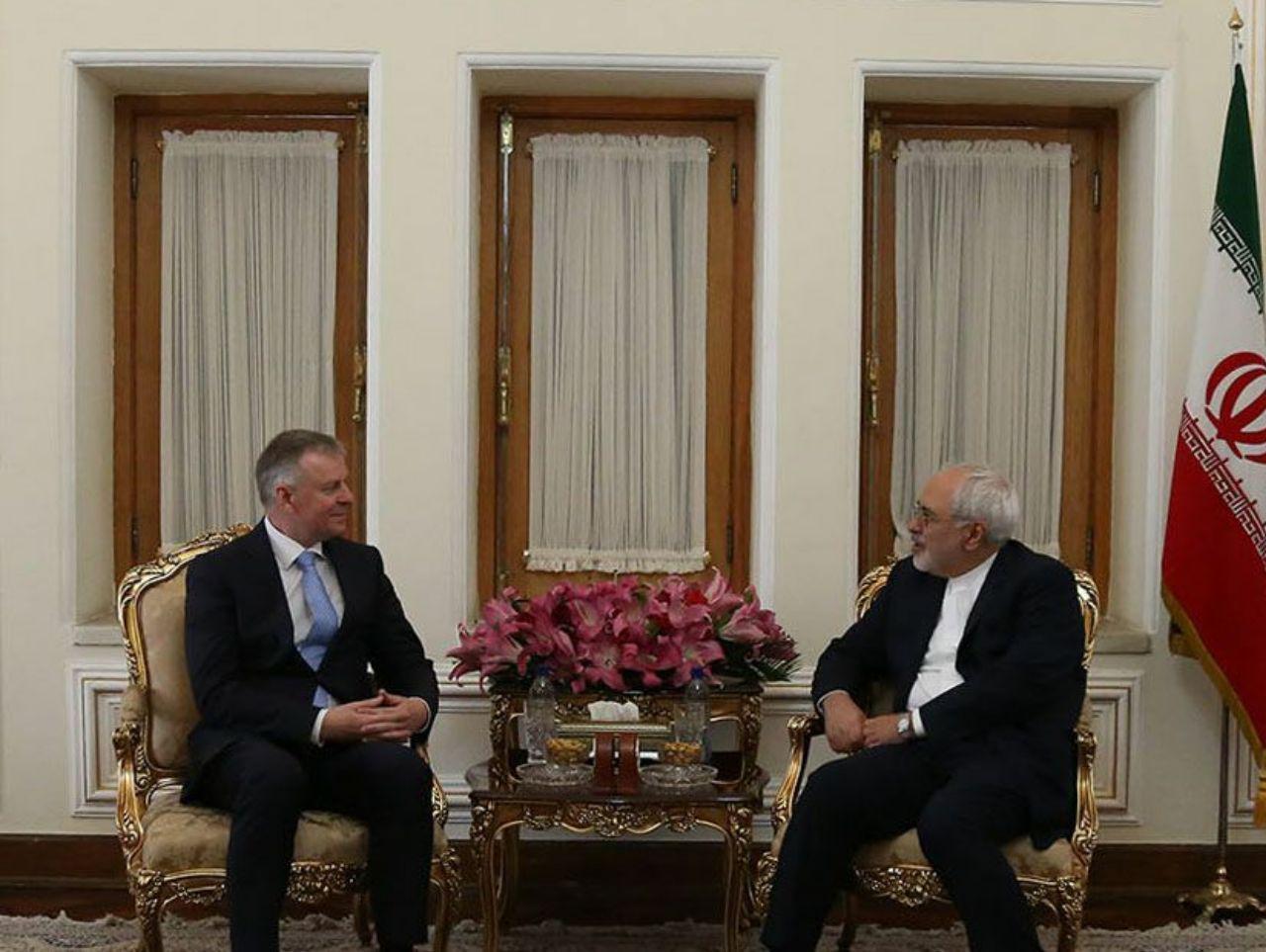 دیدار تودیعی سفیر اتریش با محمد جواد ظریف