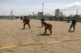 باشگاه خبرنگاران - آغاز تمرینات تیم ملی والیبال ساحلی در بابلسر