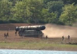 فیلم منتشر شده از آزمایش موشک بالستیک در کره شمالی