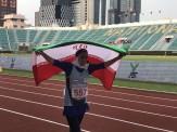 باشگاه خبرنگاران -بهاره جهان تیغ مدال نقره دوی 1500 متر را تصاحب کرد/ رکورد ملی نوجوانان شکسته شد