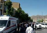 باشگاه خبرنگاران -تصادف در بلوار شریعتی / راننده بدون خودرو گریخت + تصاویر