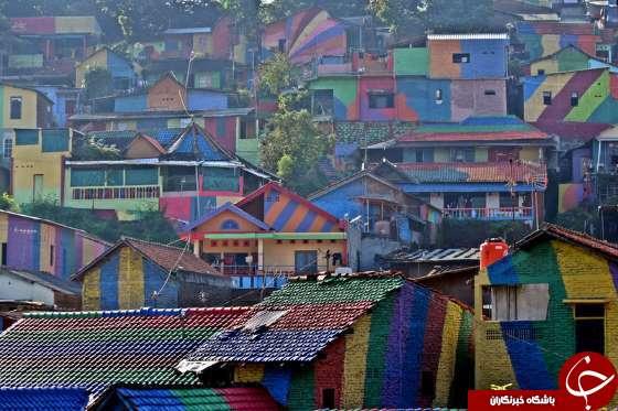 روستای کثیفی که جاذبه توریستی شد +تصاویر