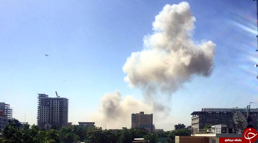 انفجار قوی نزدیک سفارتخانههای خارجی و دفتر<a href=http://www.sobheqazvin.ir > خبرگزاری</a> صدا و سیمای ایران در کابل+ تصاویر