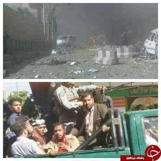 انفجار قوی نزدیک سفارتخانههای خارجی و دفتر خبرگزاری صدا و سیمای ایران در کابل+ تصاویر