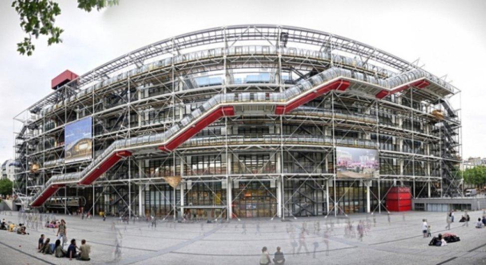 موزه ژرژ پمپیدو؛ بزرگترین موزه هنر مدرن در جهان