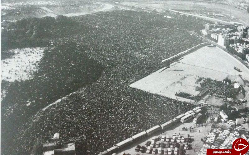 گزارش تصویری از مراسم تشییع که در دنیا رکورد زد