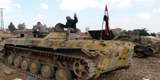 هلاکت 50 تکفیری در مقر حاشیه فرات/ کشف هدیه واشنگتن به تروریستها در حمص؛ از زرهپوش Humvee تا پرتابکننده موشک