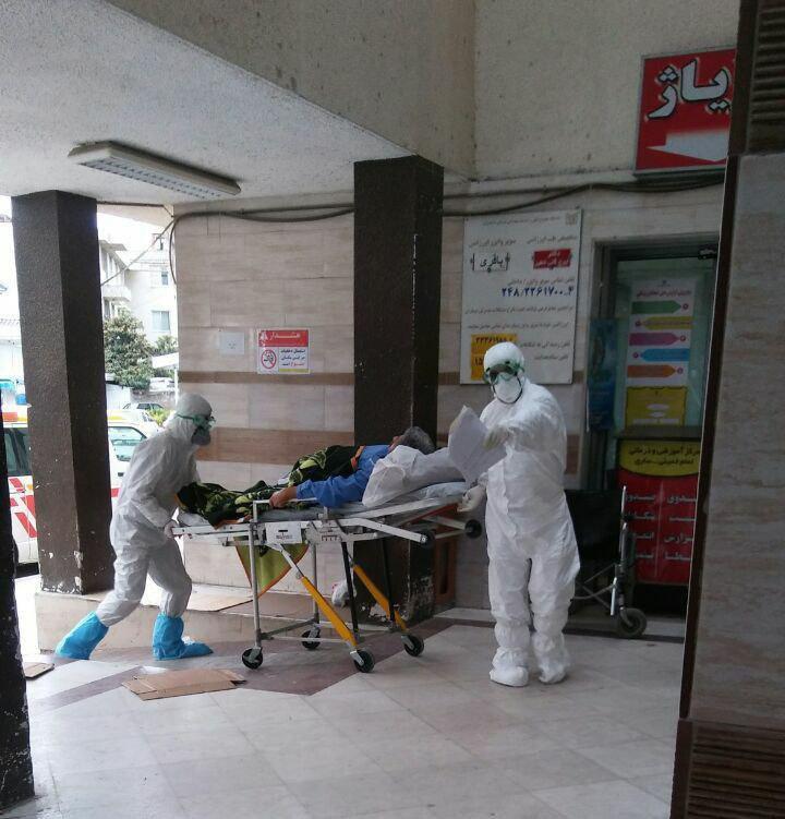 اولین عکس بیمار تب کنگو شهر ساری