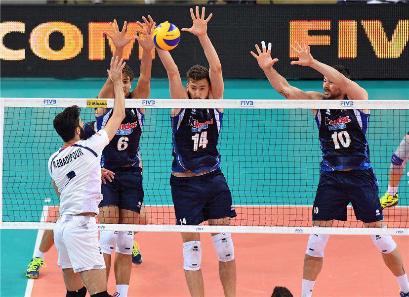 ایران صفر – ایتالیا 3/شاگردان کولاکوویچ لیگ جهانی را با شکست آغاز کردند