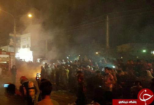 انفجار و آتش سوزی مهیب در شیراز