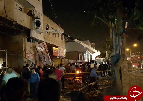 ۳۷ مصدوم در پی حادثه انفجار شیراز