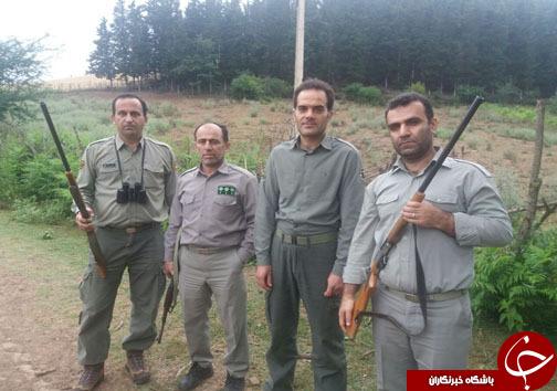 دستگیری 7 شکارچی غیرمجاز در مازندران+ تصاویر