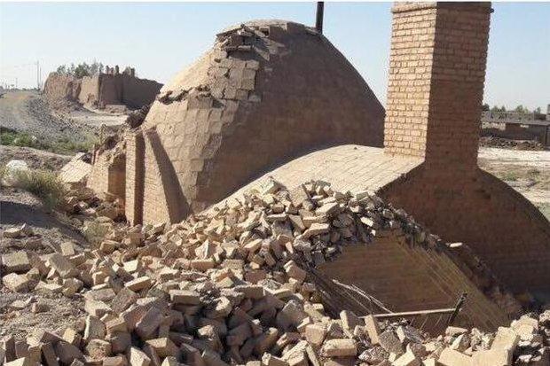 تخریب شبانه آب انبار تاریخی گرمسار توسط افراد ناشناس