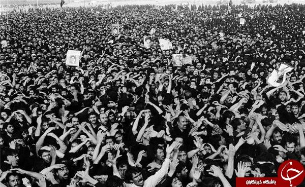 گذری به علت بیماری و ارتحال جانگداز امام خمینی (ره)+ تصاویر