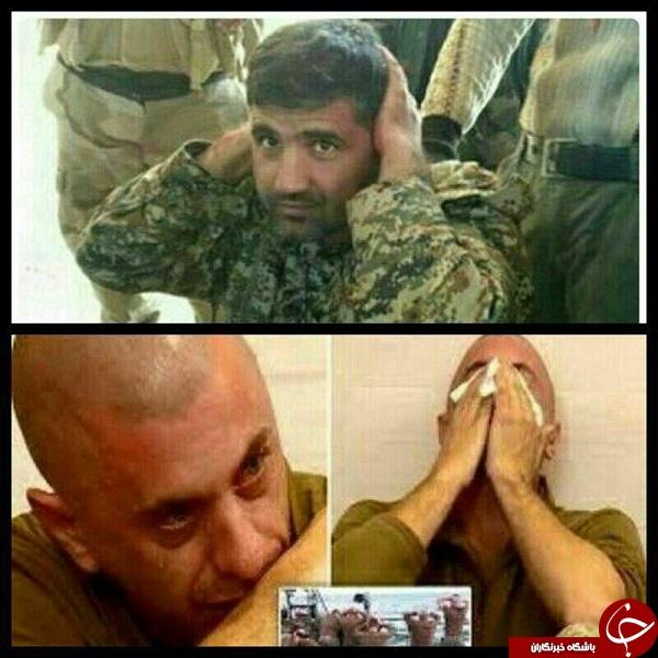 تصویری جالب از تفاوت اسیر شدن یک ایرانی و یک آمریکایی