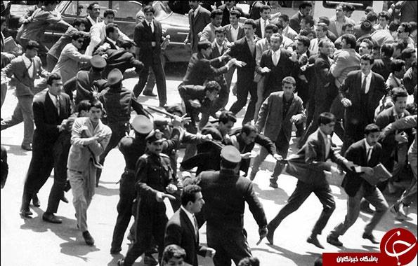 گزارش تصویری از ع های کمتر دیده شده قیام خونین 15 داد