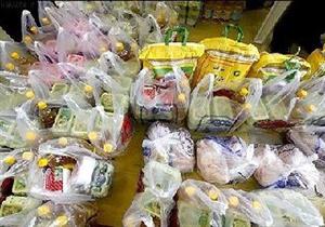 توزیع 100 بسته غذایی بین نیازمندان خرامه