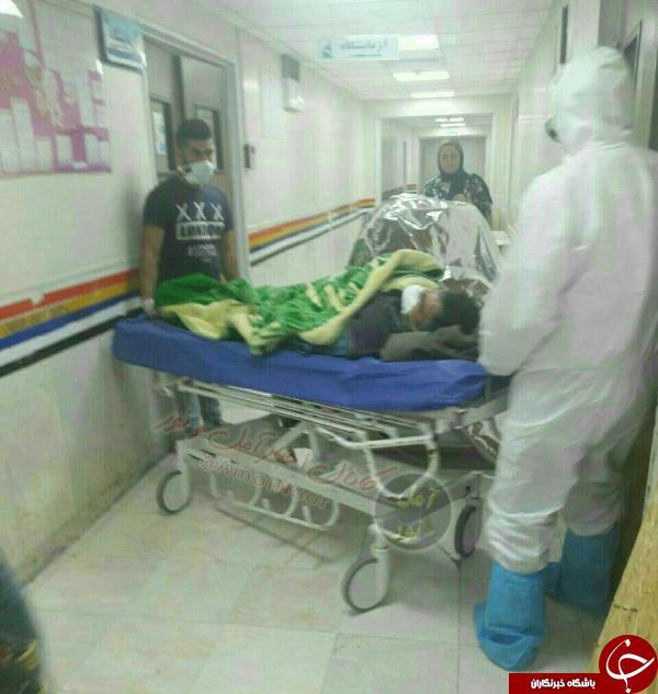 تصویر دومین بیمار مبتلا به تب کنگو در مازندران
