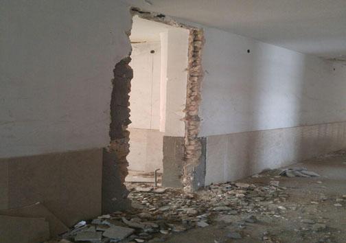 حال ناخوش مدرسه ارشاد در منطقه حسین آباد دورود+ تصاویر