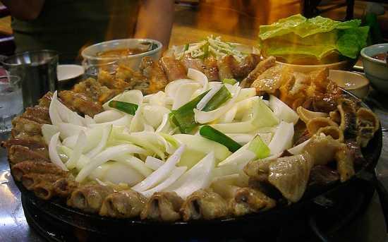 از غذاهای عجیب کره ای چه میدانید؟
