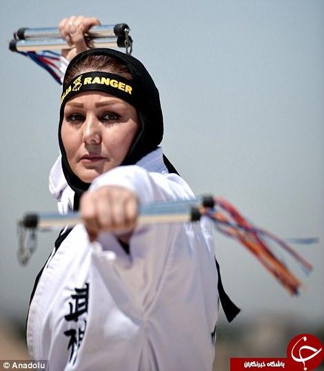 نینجاکاران زن ایرانی در قلب تهران+ تصاویر