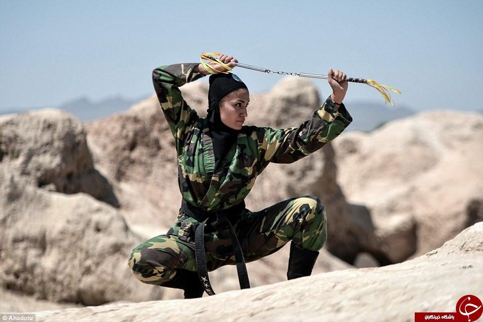 گزارش دیلیمیل از زنان نینجاکار ایرانی+ تصاویر