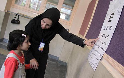 اجرای طرح سنجش نوآموزان بدو ورود به مدرسه در استان