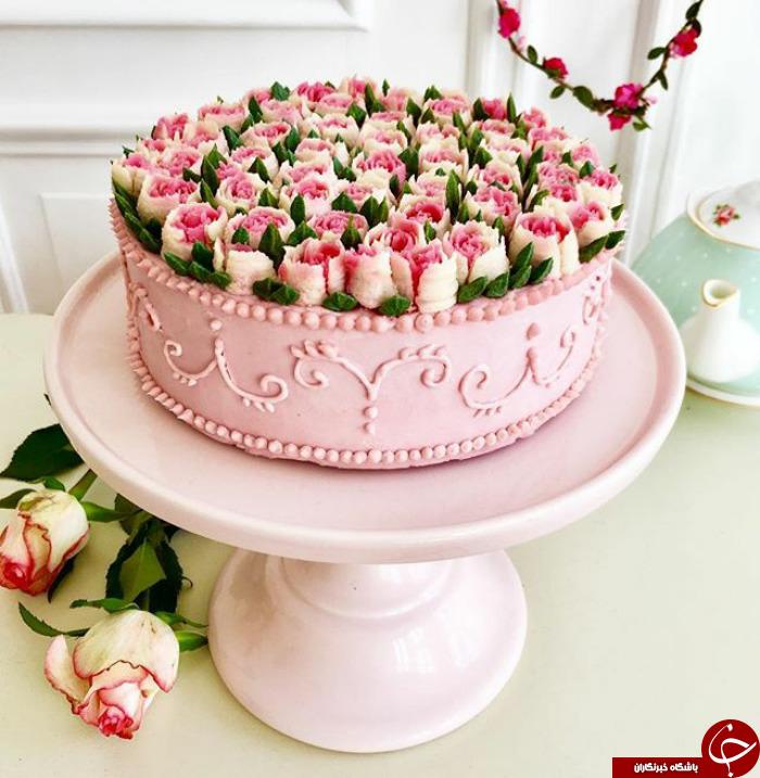 زیباترین کیک هایی که تا به حال دیده اید