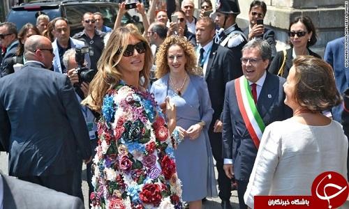 لباس ارزان قیمت ایوانکا ترامپ جنجال به پا کرد+ تصاویر
