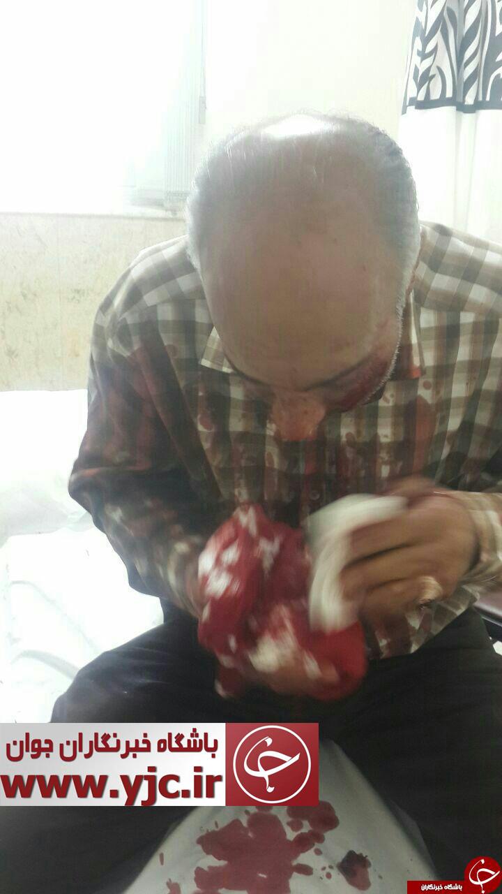 اولین تصاویر از مجروحین تیراندازی صبح امروز مجلس