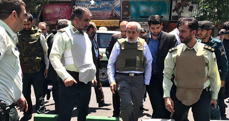 حضور  دادستان تهران در محل حادثه تیراندازی در مجلس+عکس