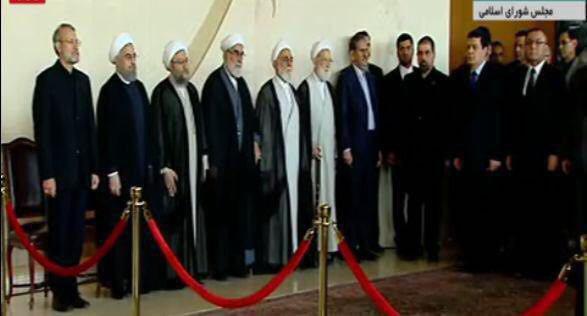 مراسم وداع با شهدای حمله تروریستی تهران برگزار شد+جزئیات و تصاویر