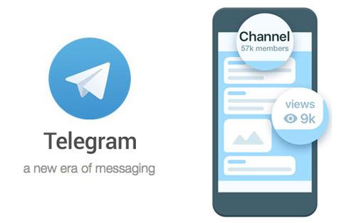 راه اندازی کانال تلگرام