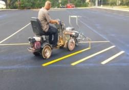 باشگاه خبرنگاران - چگونه پارکینگ را خط کشی میکنند؟ + فیلم