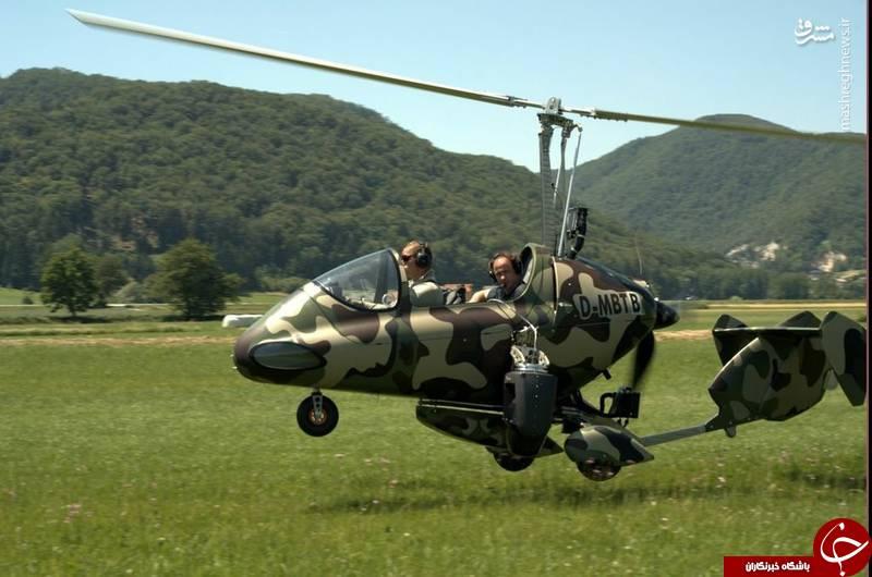 «جایروکوپتر»؛ پرندهای سبک با وظایف سنگین در یگانهای نظامی ایران/ ارتش چین و آمریکا هم سراغ تجربه موفق سپاه رفتند +عکس
